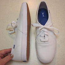 Keds White Leather Sneakers 11 M - New Photo