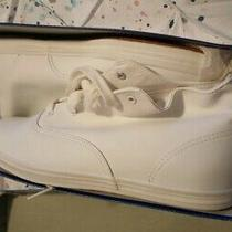 Keds White Women's Sneakers 8.5 M Leather Upper Photo
