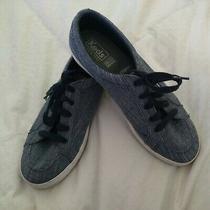 Keds Womans Dream Foam Memory Center Denim Blue Navy Fashion Tennis Shoes Sz 7.5 Photo