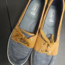 Keds Women Charter Airy Chambray Sz 8 Pre-Loved Inv26 Photo