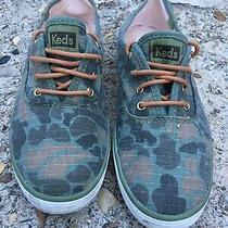 Keds Women's Champion Camo Ripstop Fashion Sneaker Shoes Size 7.5 Photo