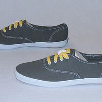 Keds Women's Champion Canvas Sneakers Shoes Graphite Wf35186 Size 10 Photo