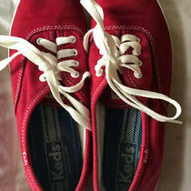 Keds Womens Champion Low Top Lace Up Fashion Sneakers Red Size 7.0 Yvg3 Photo