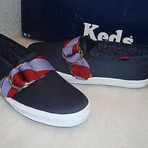 Keds Womens Nwb Ch Rep Stripe Navy Red Flats Shoes 5 Med New Photo