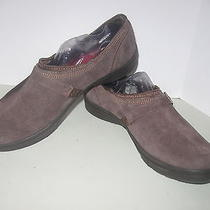 Keds Womens Size 10  Athletic Winter Snow -Fleece Lined Brown Suede Slip on  Photo