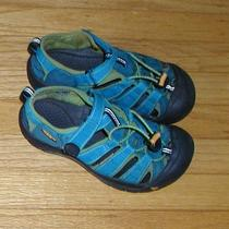 Keen Aqua Newport Waterproof Hiking Sandals Shoes Size 3 Youth  Photo
