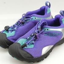 Keen Jamison Girls Ultra Violet / Ceramic Mesh Shoes Youth Size 1 Us Photo