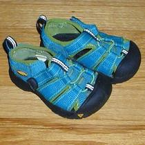 Keen Newport Shoes Waterproof Sandals Size 5 Infant Unisex Aqua Excellent Photo