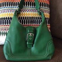 Kelly Green Coach Handbag Photo