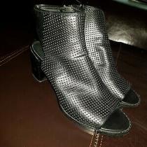 Keneth Cole Black Sandals Size 6 Photo