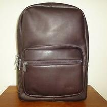 Kenneth Cole Ahead of the Pack Columbian Leather Computer Backpack Photo