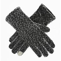 Kenneth Cole Animal-Print Velvet Texting Glove Photo