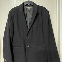 Kenneth Cole Black Wool  Blazer  Coat /jackets-Size 40 Reg  Photo
