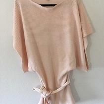 Kenneth Cole Blush Pink Kimono Sweater Top Size M Photo