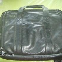 Kenneth Cole Brief Case Computer Leather Messenger Shoulder Strap  Photo