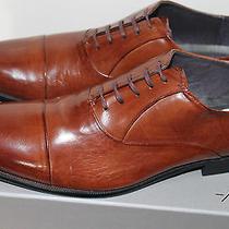 Kenneth Cole Chief Council Men's Oxfords Shoes Cognac Color Sizs 9.5 M Photo