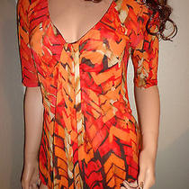 Kenneth Cole Colored Summer Blouse Top M Photo