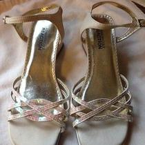Kenneth Cole Girls Shoes 3.5 Wedding Holiday Christmas Shoes  Photo