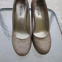 Kenneth Cole Glittery Pumps Size 9m Hidden File Style Name  Photo