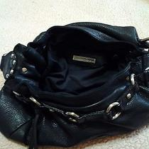 Kenneth Cole Gorgeous Black Large Leather Pure Photo