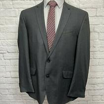 Kenneth Cole Men's Gray Blazer Suit Jacket 44r Photo
