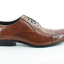 Kenneth Cole New York Chief Council Brown Mens Shoes 10.5 M Oxfords Msrp 150 Photo