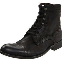 Kenneth Cole New York Men's Bike Tour Black Boots Us 11.5 Photo