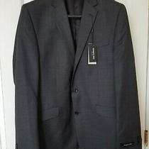 Kenneth Cole New York Men's Performance Wool Suit Separate Blazer Charcoal 42l Photo