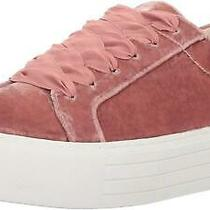 Kenneth Cole New York Womens Abby Fabric Low Top Lace Up Fashion Blush Size  Z Photo