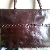 Kenneth Cole Ny Red Purse Handbag Double Straps With Inside Pockets Photo