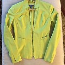 Kenneth Cole Peplum Hem Blazer Sz 0 Photo