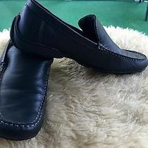 Kenneth Cole Reaction Drivers Seat Black Leather Loafer 9 Med Photo