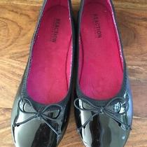 Kenneth Cole Reaction Girls Pattent Leather Ballet Flats Size 3 Photo