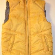 Kenneth Cole Reaction Gold Puffy Vest Youth Sz 7 Photo