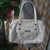 Kenneth Cole Reaction Ladies White Faux Leather Purse Hand Bag Photo