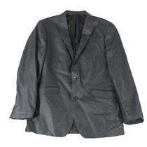 Kenneth Cole Reaction Mens Blazer Gray Size 40 Long Two-Button Notched 295 049 Photo