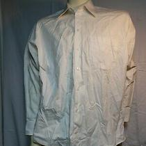 Kenneth Cole Reaction Mens White Long Sleeve Dress Shirt 15-15.5 32-33 Vgc Photo