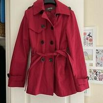 Kenneth Cole Reaction Red Cotton Jacket Size 8 Photo