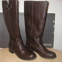 Kenneth Cole Reaction Shoes Size 10 M Womens New Love Seat Brown Fashion Boots Photo