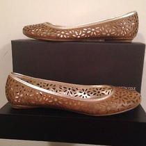 Kenneth Cole Reaction Slip-on Laser Flats Size 8.5 M Photo