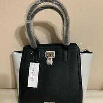 Kenneth Cole Reaction Tourist Purse Handbag Black .. With Lock Design Photo