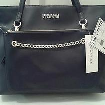 Kenneth Cole Reaction Women's 3 in 1 Tote/handbag   Navy    New 109     (T015k) Photo