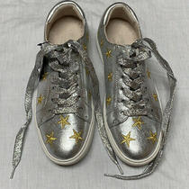 Kenneth Cole Silver With Gold Star Sneakers Photo