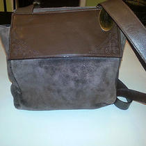 Kenneth Cole Suede Handbag Photo