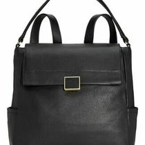 Kenneth Cole Techni-Cole Leather Christie Backpack Convertible Shoulder Bag New Photo