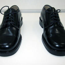 Kenneth Cole Unlisted Mens Black Hard Dress Shoes Like New Size 7 Italy Photo