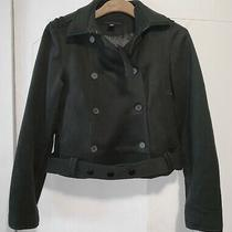 Kenneth Cole Women's Army Green Jacket Size 6 Photo