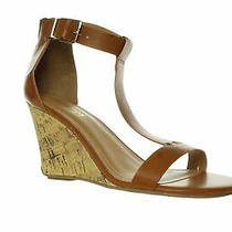 Kenneth Cole Womens Ava Great Luggage T-Strap Heels Size 8 (1231002) Photo