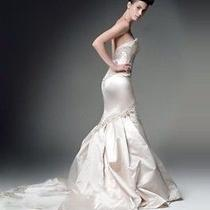 Kenneth Pool Amsale Overture Wedding Dress Photo