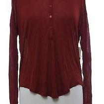Kensie Basic Essentials Womens S Soft Shirt Top Pull Over Henley Comfort Solid Photo